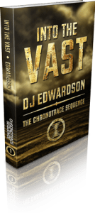 Vast Science Fiction Book Cover 3D