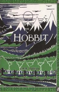The Hobbit Book Cover - by J.R.R. Tolkien
