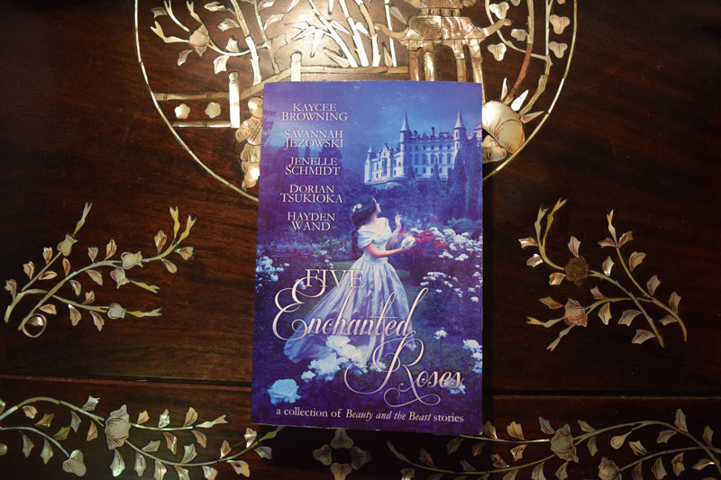five enchanted roses book cover