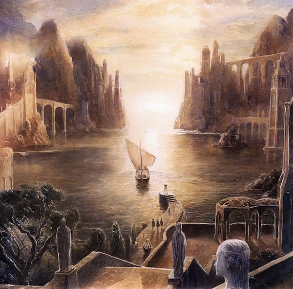 lord of the rings alan lee grey havens