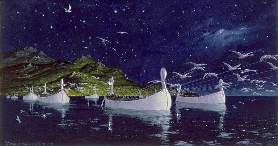 silmarillion white ships