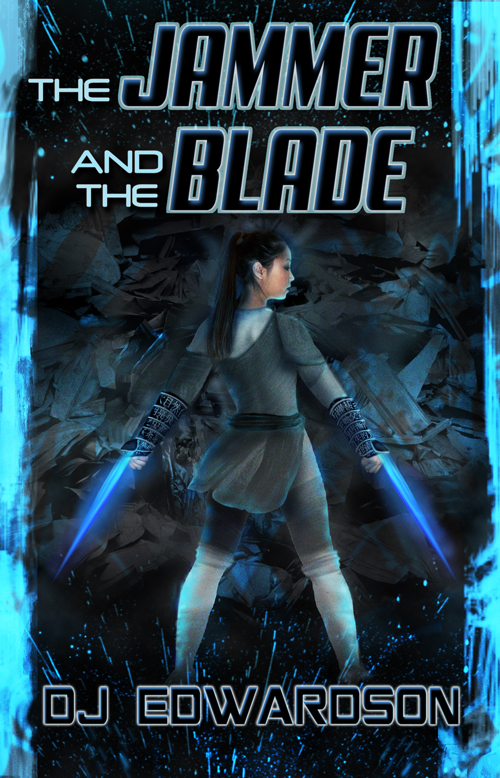 jammer and the blade science fiction cover