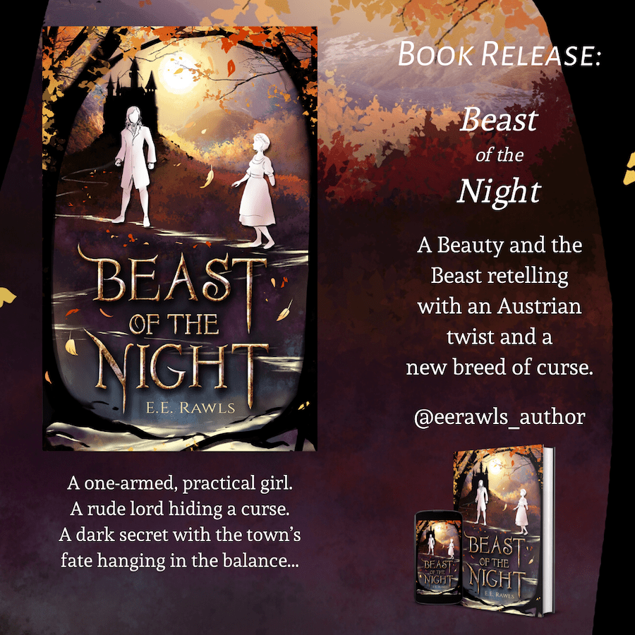 Beast of the Night fantasy book release