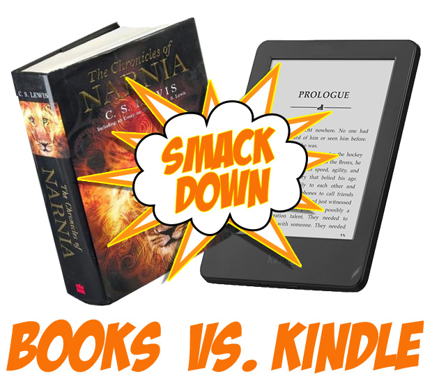 books vs kindle smackdown