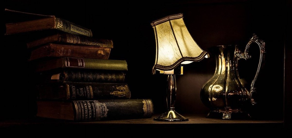 book lamp night light
