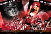 Halloween Costume Social Party Flyer Design