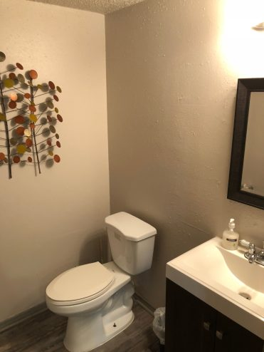 Remodeled Office Restroom