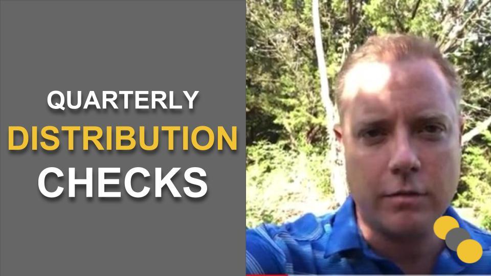 Quarterly Distribution Checks