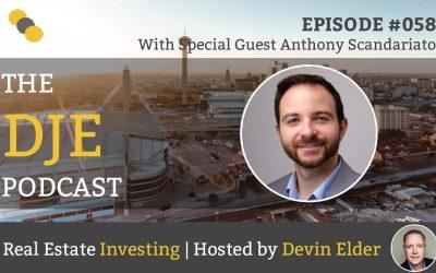 DJE Podcast #058 with Anthony Scandariato