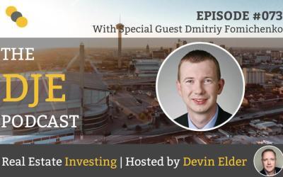 DJE Podcast #073 with Dmitriy Fomichenko