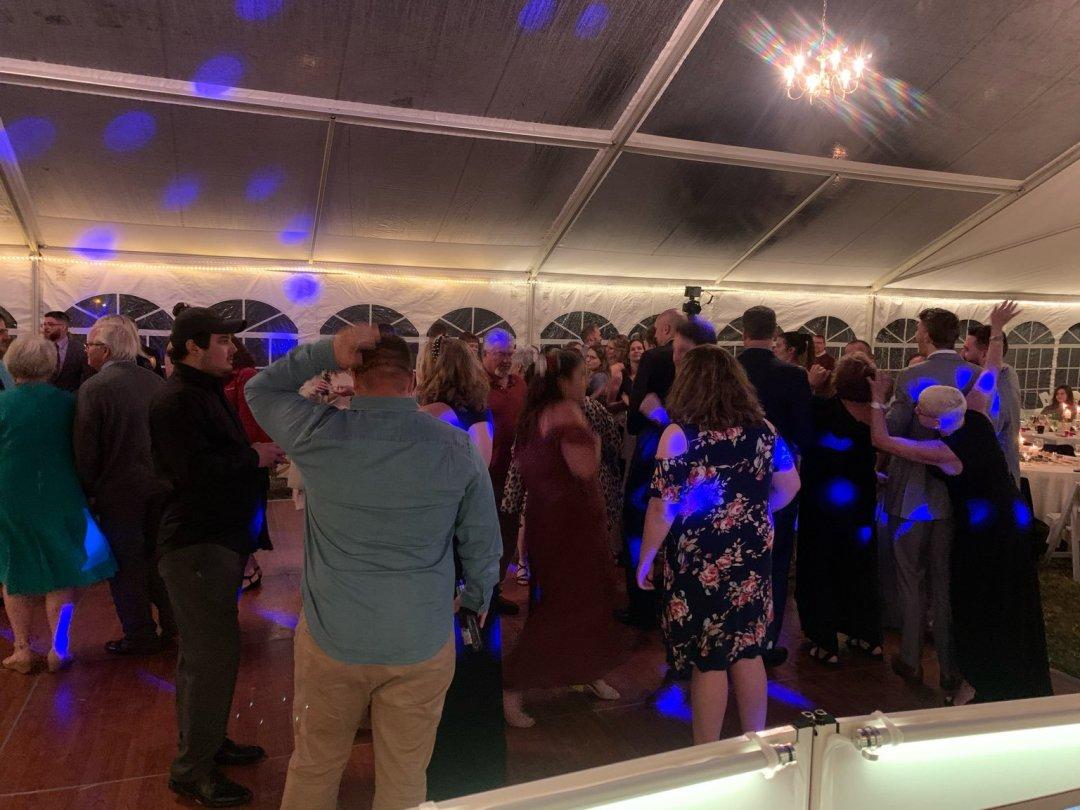 Austin & Auberly - April 16 - Wedding Recap Ceremony Dance Floor
