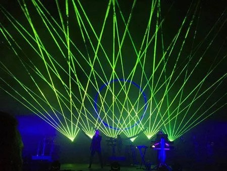 concerts et lasers