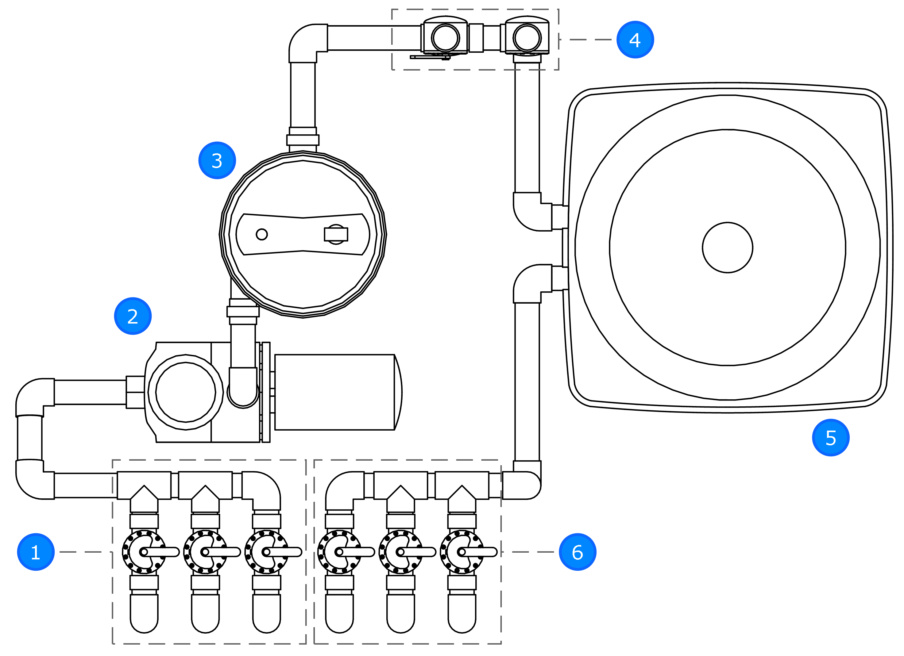 Typical Pool Plumbing Diagram