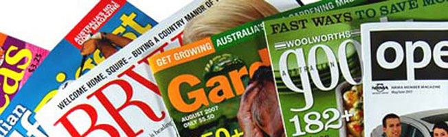 National Magazines, Press, Advertising Options