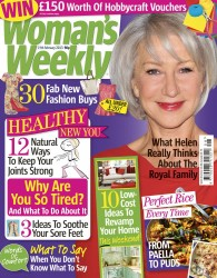 Woman's Weekly Magazine Cover 19feb2013