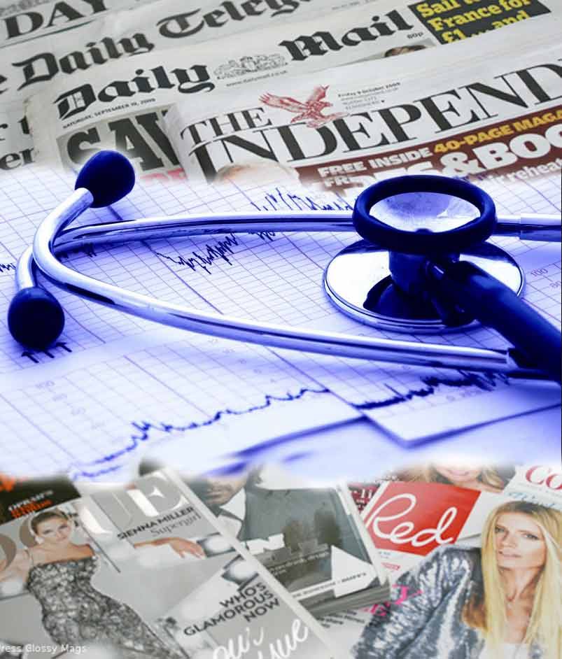 DJH Media Health Check, Media Buying, Newspaper Advertising, Media space