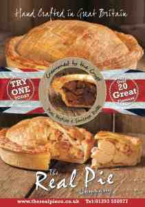 Real Pie Poster