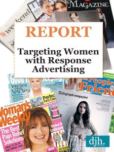 Advertising Report, Response Advertising for Women, Off the Page Response Advertising, Targeting Women with Response Advertising