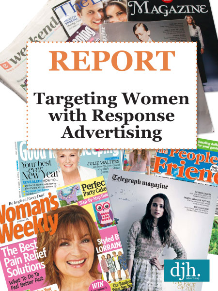 See our Report on Targeting Women with Response Advertising