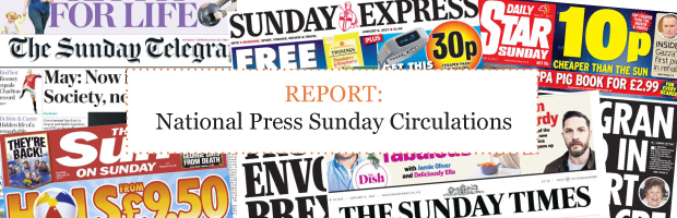 Sunday Newspaper Circulation Figures