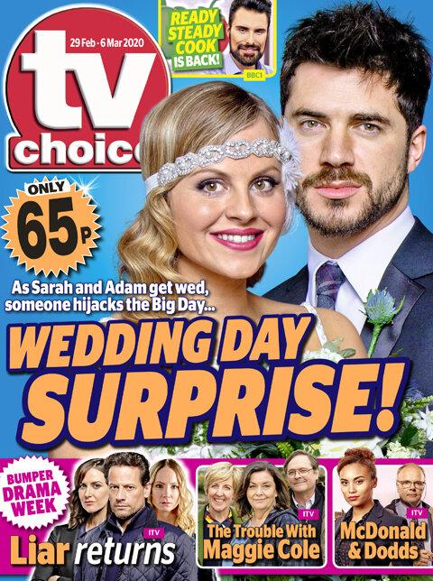 TV Choice Magazine Cover