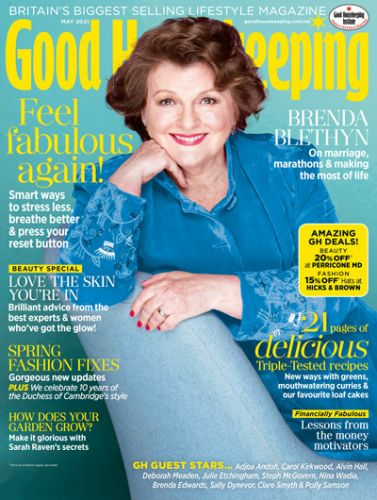 Good Housekeeping Cover 2021