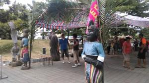 lakancin's kamaro'an for the 2015 kiloma'an festival. photograph djh