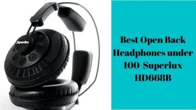 Best Open Back Headphones under 100-Superlux-HD668B