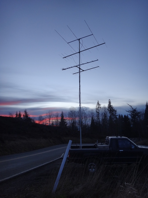 The rear antenna stack from CN86
