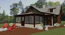 Minnesota Custom Cabin & Lake Home Design Dan . Heid