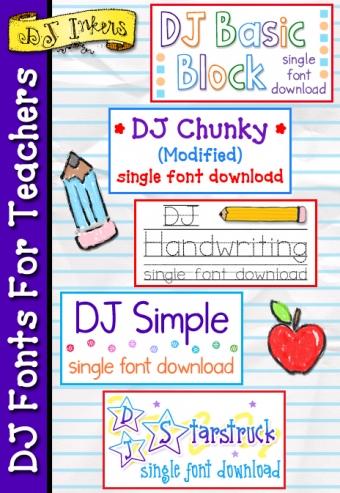 Elementary School Font : elementary, school, Great, Fonts, Teachers, Schools, Inkers