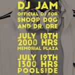 Sunday July 19th / Poolside/Base (For the U.S. Troops) / Doha, Qatar
