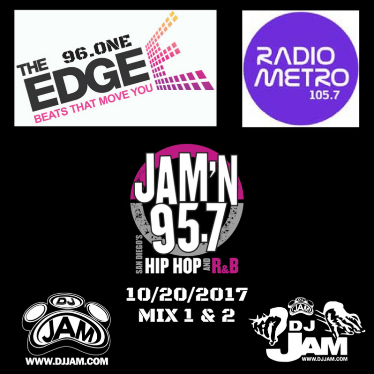 DJ Jam Radio Mix 10/20/2017 Mix 1 & 2