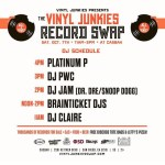 Vinyl Junkies Record Swap Meet – Saturday October 7th at the Casbah – San Diego,CA