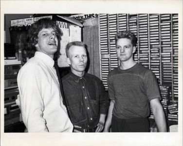 Erasure in the Pasadena control room, 1986