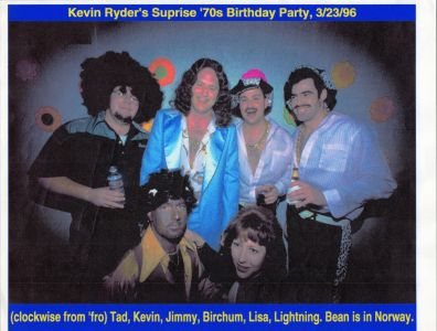 Kevin Ryder's Surprise 70s Birthday Party 1996