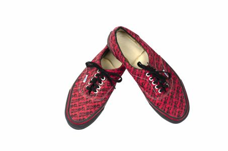 Jed The Fish's Van's special edition KROQ shoes