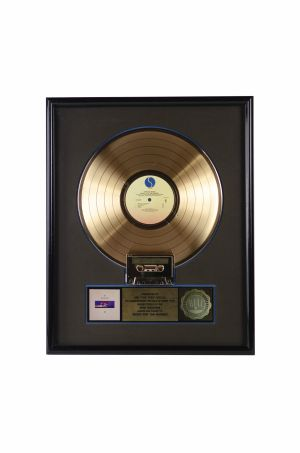 Jed The Fish's Depeche Mode 'Music For The Masses' gold record