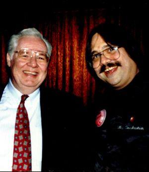 Ken Roberts & Freddy Snakeskin Circa 1991