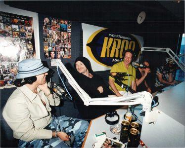 U2 at KROQ, Burbank 1997