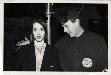 Suzanne Vega with Jed The Fish, cir.1992