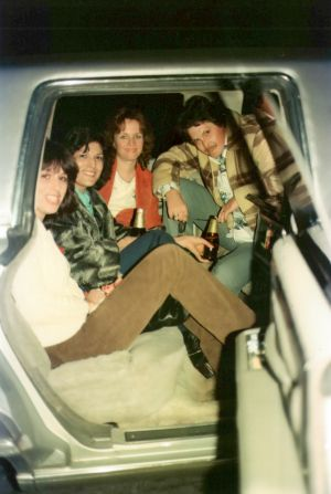 KROQ Winners in a limo