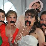 Photo booth mustache props