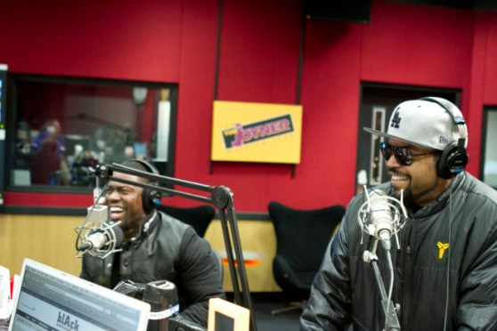 OG Ice Cube and 'Chocolate Drop' Kevin Hart Take the TJMS on a Ride