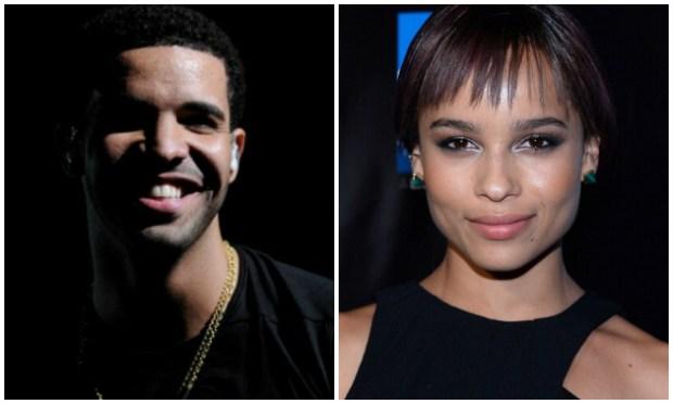 Drake Calls Zoe Kravitz His 'Everything'