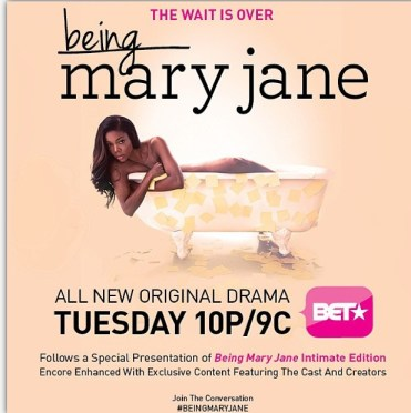 @BET original series #BeingMaryJane (@itsgabrielleu) airs tonight. |#StreetIntell #PopCulture