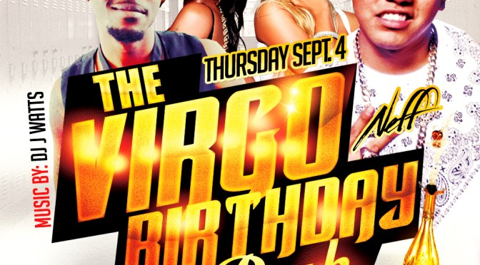 The Fresh Prince 843 Promotion Presents The Virgo Birthday Bash #Thursday Sept 4th @ CLUB COMPOUND FLORENCE, SC