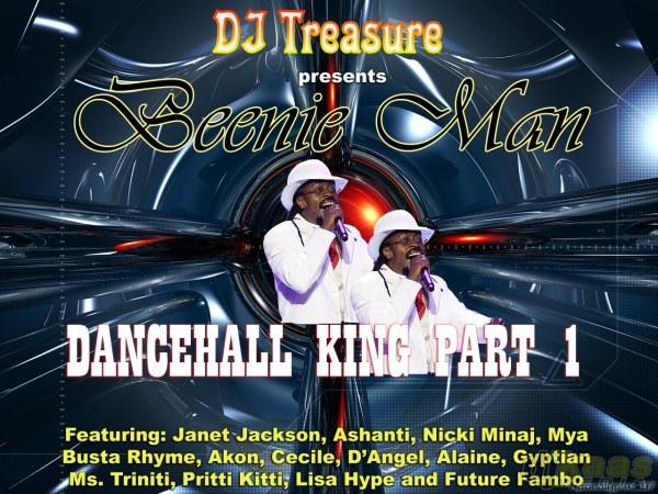 "Beenie Man ""King of Dancehal""l mixtape by DJ Treasure"