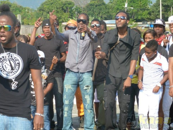 Bounty Killer and Iyara drop bombs on the Gully Squad!