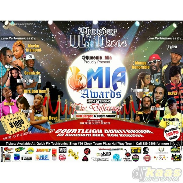 Music Industry Achievers Awards postponed until further notice.